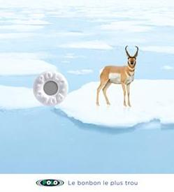 Nestlé + Polo, the mint with the hole. - J. Walter Thompson Paris