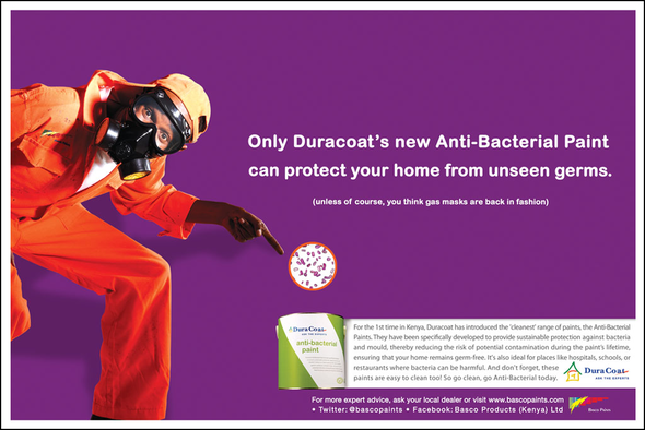 Basco Paints Kenya Limited + Anti-Bacterial Campaign - JWT Kenya