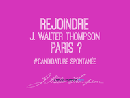 Join J. Walter Thompson: Join JWT Paris - J. Walter Thompson Paris