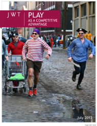 JWT + Play As a Competitive Advantage - JWT Worldwide