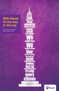 Ncell P Ltd. + Ncell Advertisements - Thompson Nepal Private Limited