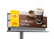 Shell + Coffee on the way - J. Walter Thompson Prague