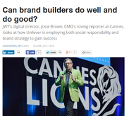 J. Walter Thompson + Can brand builders do well and do good? - J. Walter Thompson Melbourne
