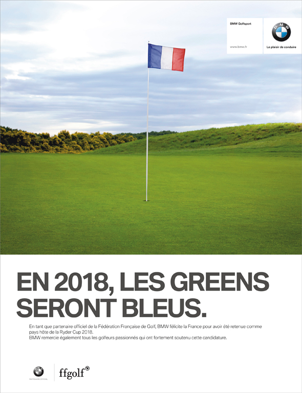 BMW France + RYDER CUP - J. Walter Thompson Paris