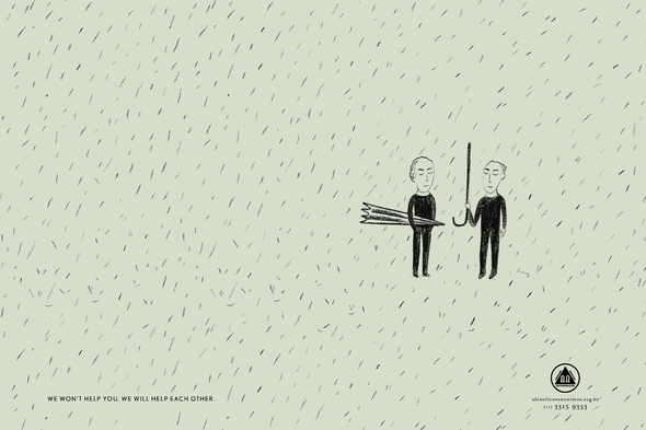 Alcoholics Anonymous + We won't help you - J. Walter Thompson Brazil
