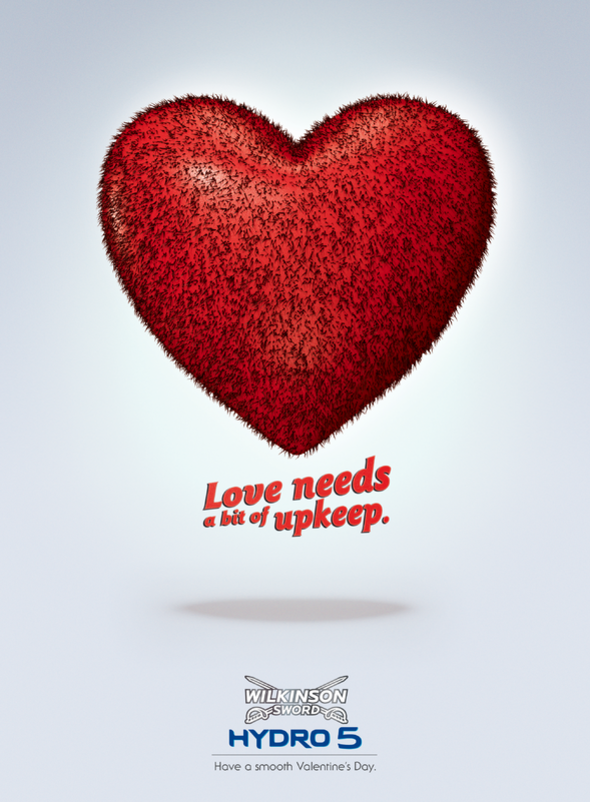Wilkinson + Smooth Valentine's Day - J. Walter Thompson Paris