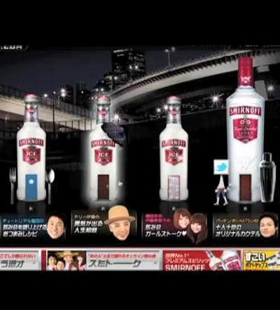 Diageo + Online Chat Drinking Party - JWT Japan