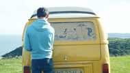 Kimberly-Clark + Kleenex Camper Van Art - J. Walter Thompson London