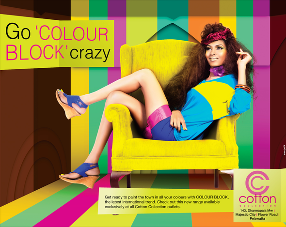 Cotton Collection + Cotton Collection Colour Blocking - J. Walter Thompson Sri Lanka