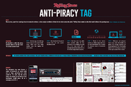 Rolling Stone India + Anti-Piracy Tags - J. Walter Thompson Mumbai