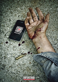 Reporters Without Borders + DeadTweet - JWT Paris