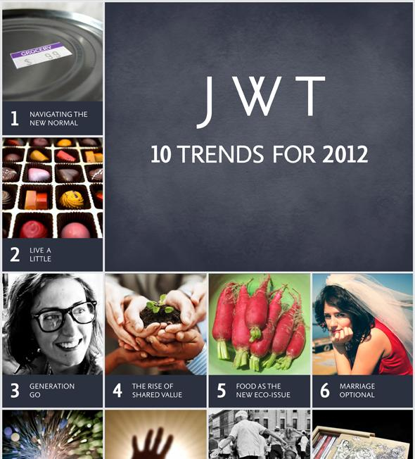 JWT + 10 Trends for 2012 - JWT Worldwide