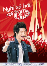 Nestle + Kit Kat First Launching in Vietnam 2012 - J. Walter Thompson Vietnam