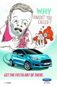 Ford + Get the fiesta out of there - JWT Melbourne