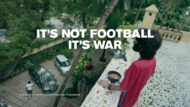 Sony Network Pictures + It's not football, it's war - J. Walter Thompson Mumbai