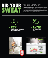Nike + Bid your sweat - JWT Mexico City