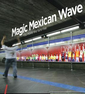 Coca-Cola + Mexican Wave - J. Walter Thompson Brazil