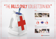 Mexican Red Cross + Bills only collection box - J. Walter Thompson Mexico City