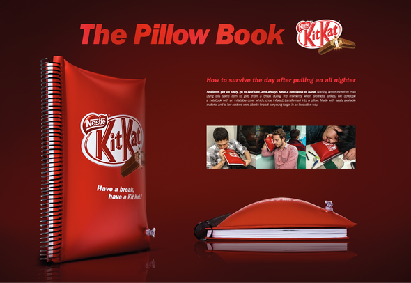 Nestlé + Pillow Book - J. Walter Thompson Brazil