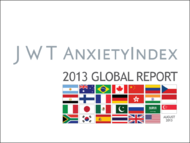 J. Walter Thompson Intelligence + AnxietyIndex Global Report 2013 - J. Walter Thompson Worldwide