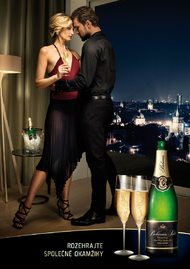 Bohemia Sekt + Passionate Tango with Tereza - KV - J. Walter Thompson Prague