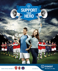 Indesit + Support your hero - J. Walter Thompson Italy