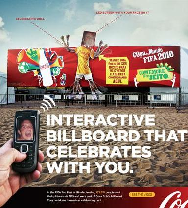 Coca-Cola + Outdoor SMS - J. Walter Thompson Brazil