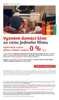 mBank + 0% rate that's something, for nothng! - J. Walter Thompson Prague