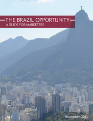 J. Walter Thompson Intelligence + The Brazil Opportunity: A Guide for Marketers - J. Walter Thompson Worldwide