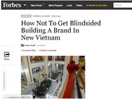 J. Walter Thompson Vietnam + How Not To Get Blindsided Building A Brand In New Vietnam - J. Walter Thompson Vietnam