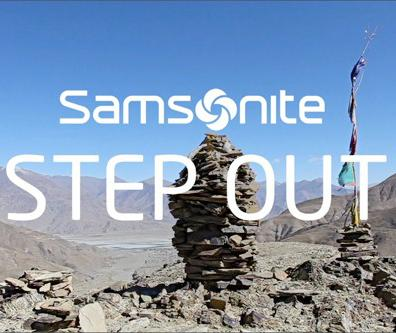 Samsonite Asia Limited + Step Out - J. Walter Thompson Hong Kong