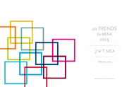 J. Walter Thompson MENA + J. Walter Thompson MENA 10 Trends for 2015 - J. Walter Thompson MEA