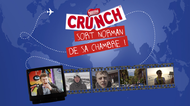 Nestlé France + CRUNCH PULLS NORMAN OUT OF HIS ROOM - J. Walter Thompson Paris