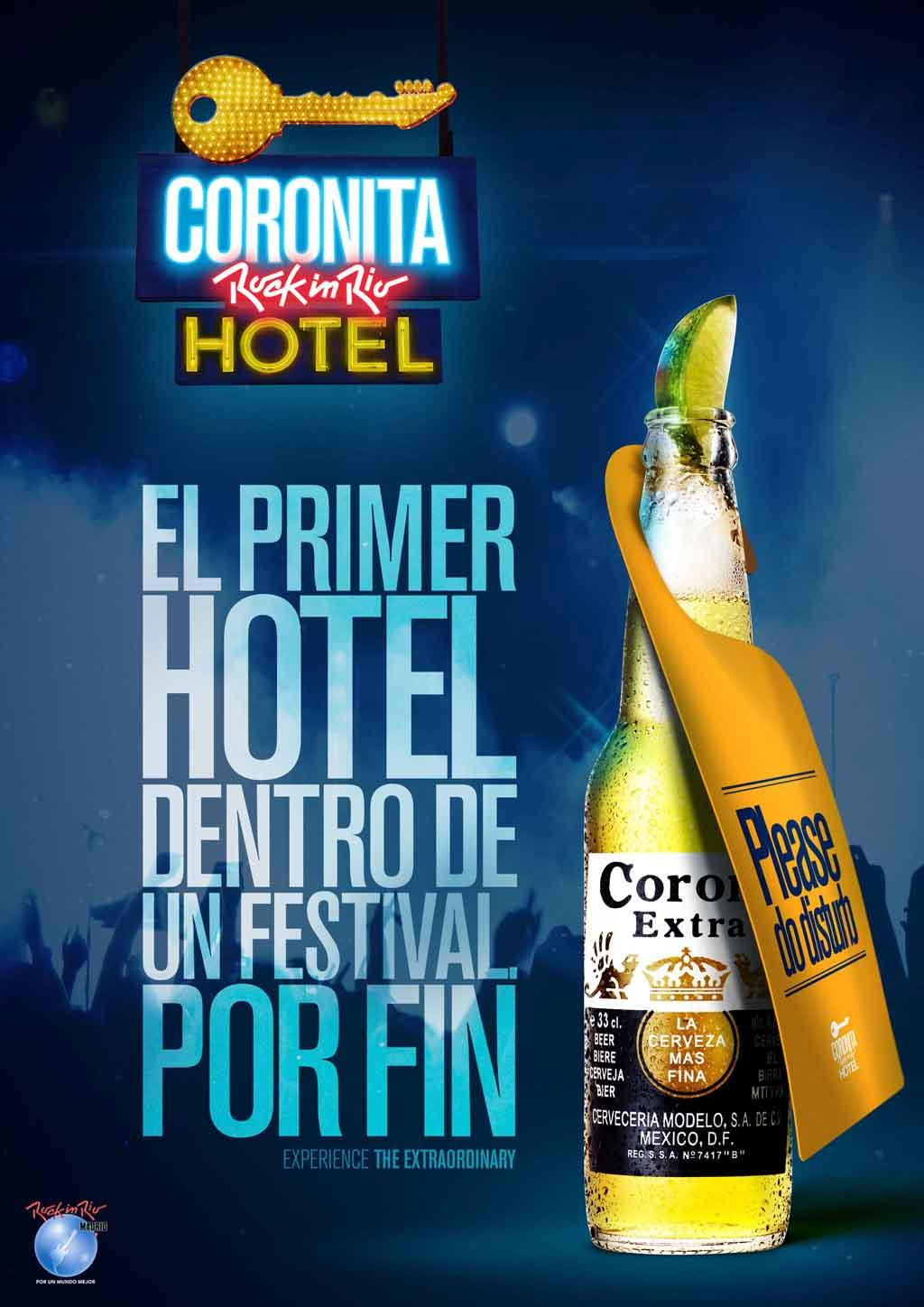 Corona + Hotel Corona Rock in Rio - J. Walter Thompson Madrid