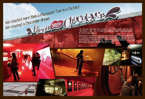 Nestlé + Tour Chocolover - J. Walter Thompson Brazil