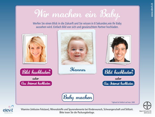 Bayer + Babymaker - Fabrikant J. Walter Thompson Switzerland